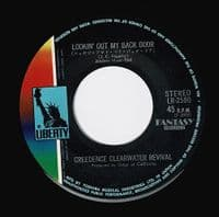 CREEDENCE CLEARWATER REVIVAL Long As I Can See The Light Vinyl Record 7 Inch Japanese Liberty 1970